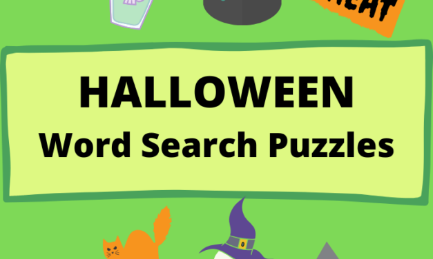 halloween puzzles to print Free: Download fun (2021)