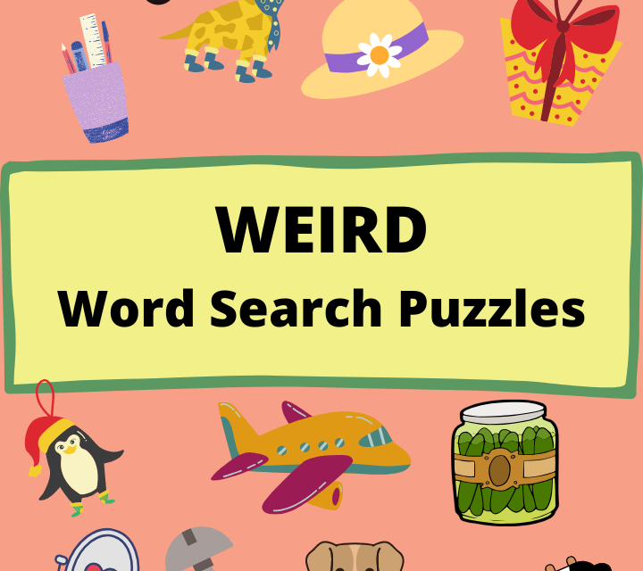 Weird Word Search Puzzles