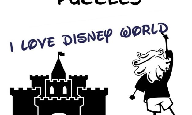 FREE 10 Disney World Word Search Puzzles
