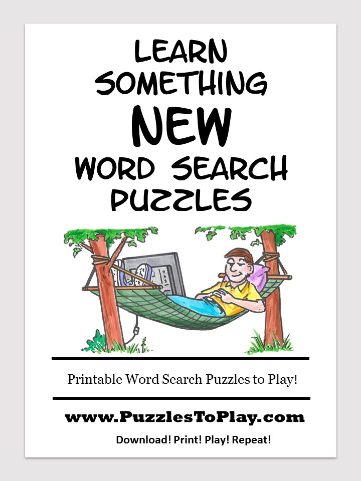 Learn something new word search free download puzzle book