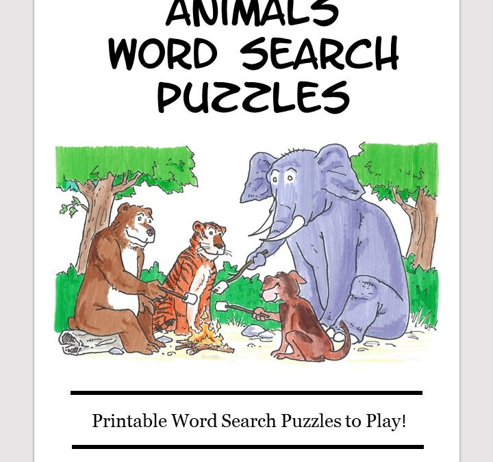 animals word search free download puzzle book