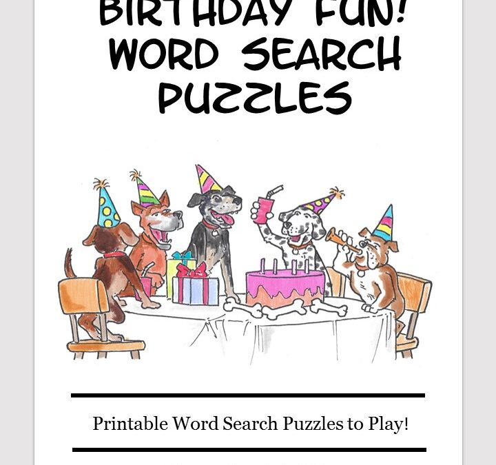 Birthday word search free download puzzle book