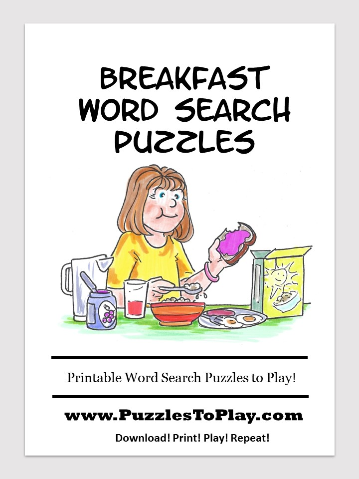 breakfast word search free download puzzle book