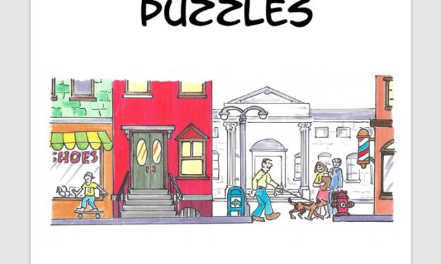 City Town word search free download puzzle book