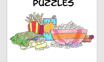 Junk Food word search free download puzzle book