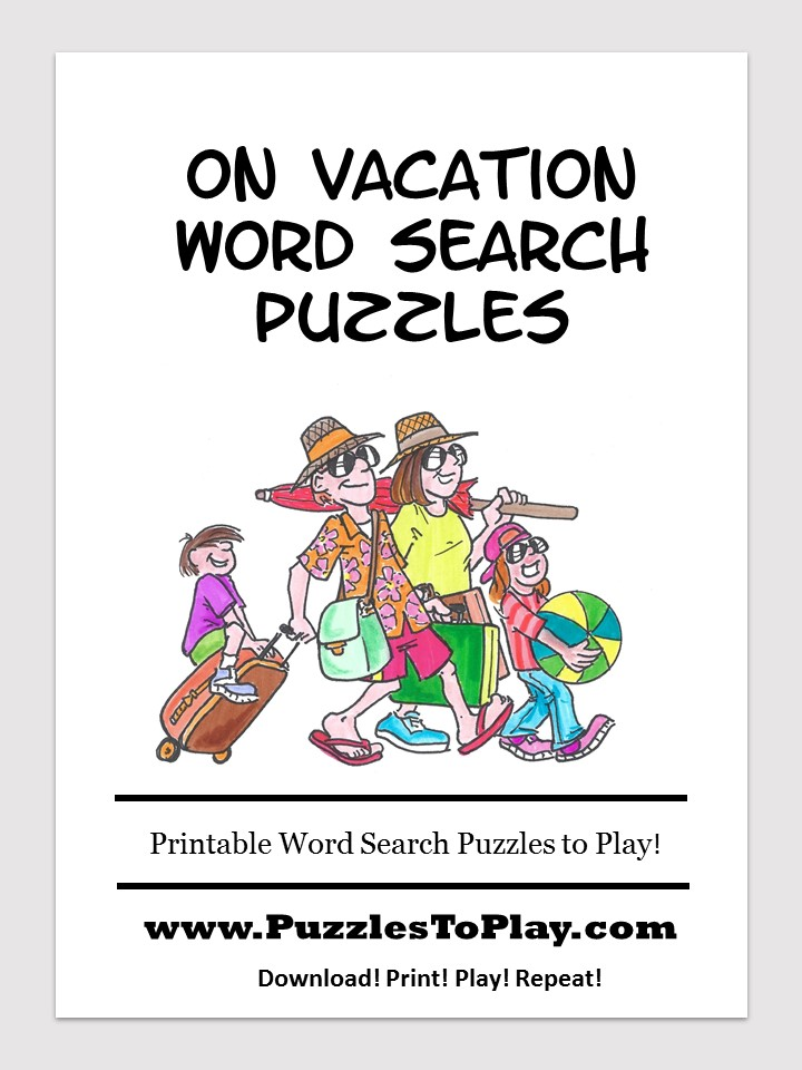 on vacation word search free download puzzle book