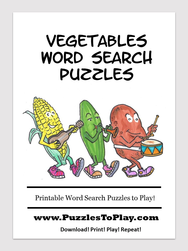 vegetables word search free download puzzle book