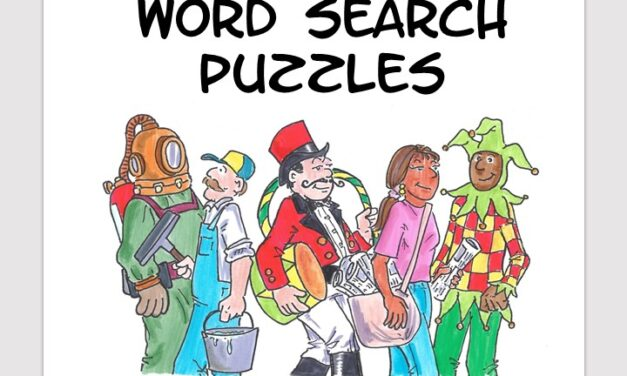 Weird Occupations word search puzzle book