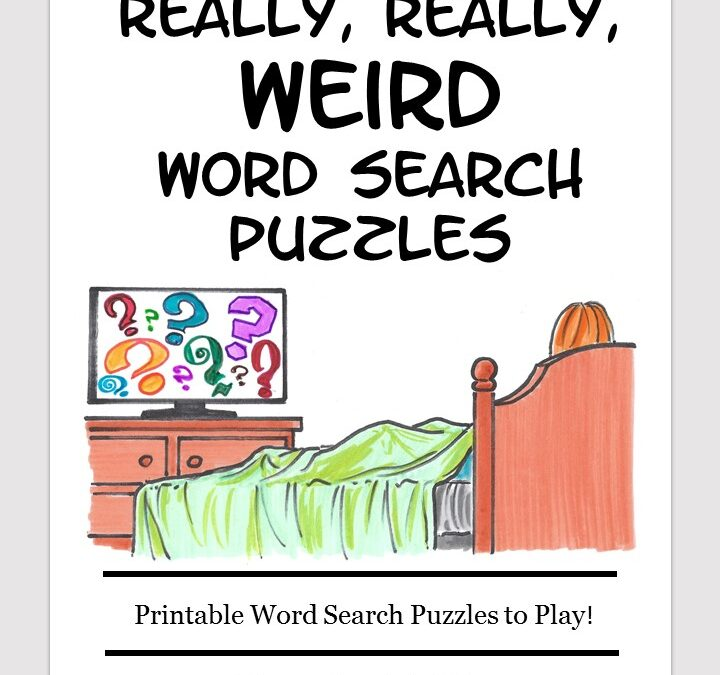 Really Weird word search free download puzzle book