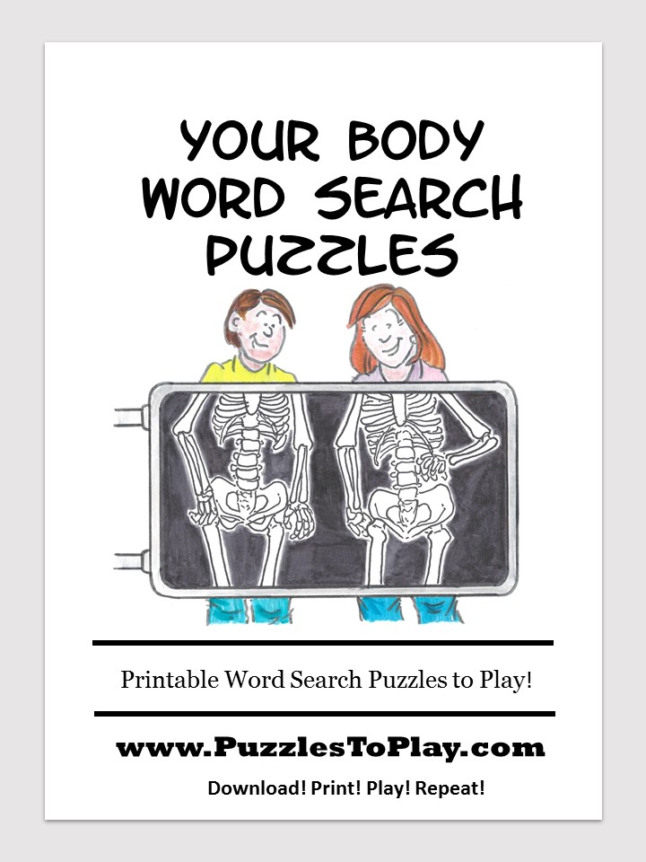 your body word search free download puzzle book