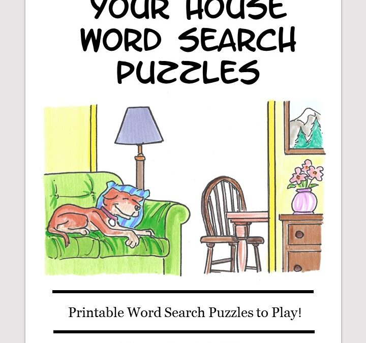 Your House word search free download puzzle book