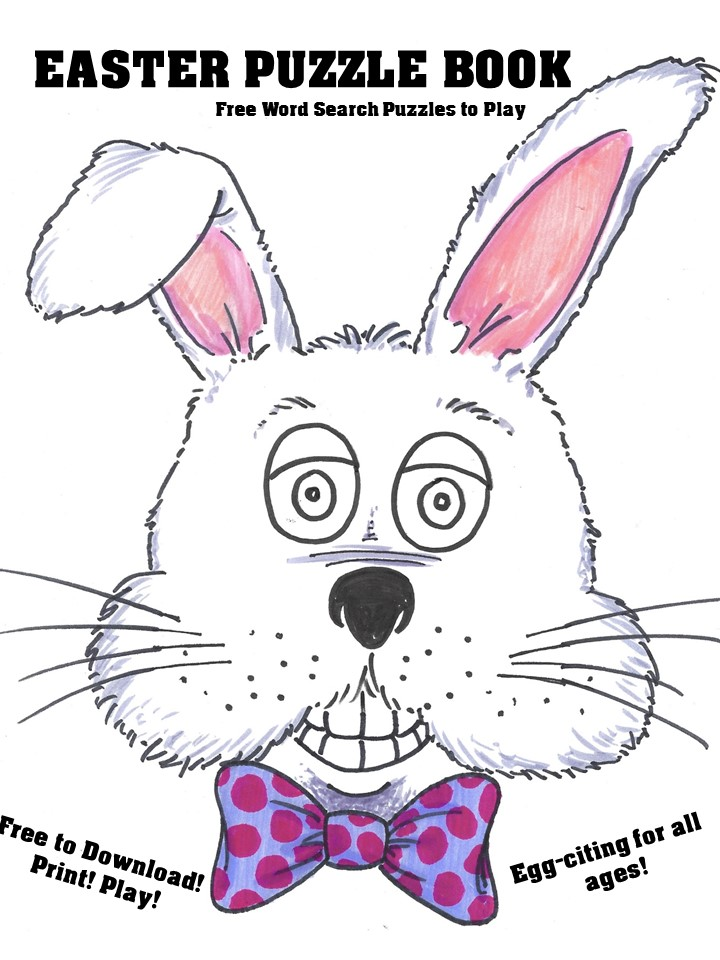 Happy Easter Word Search Puzzle Book