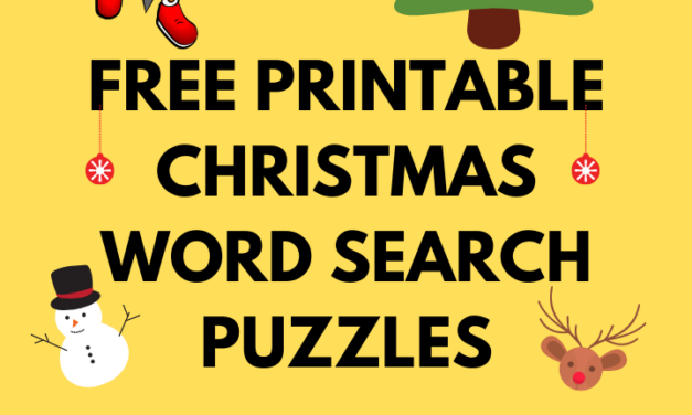 18 Free Printable Christmas Word Search Puzzles